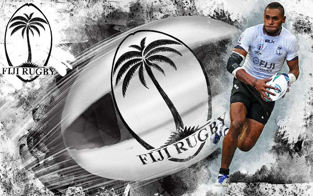 Fiji Rugby Illustration