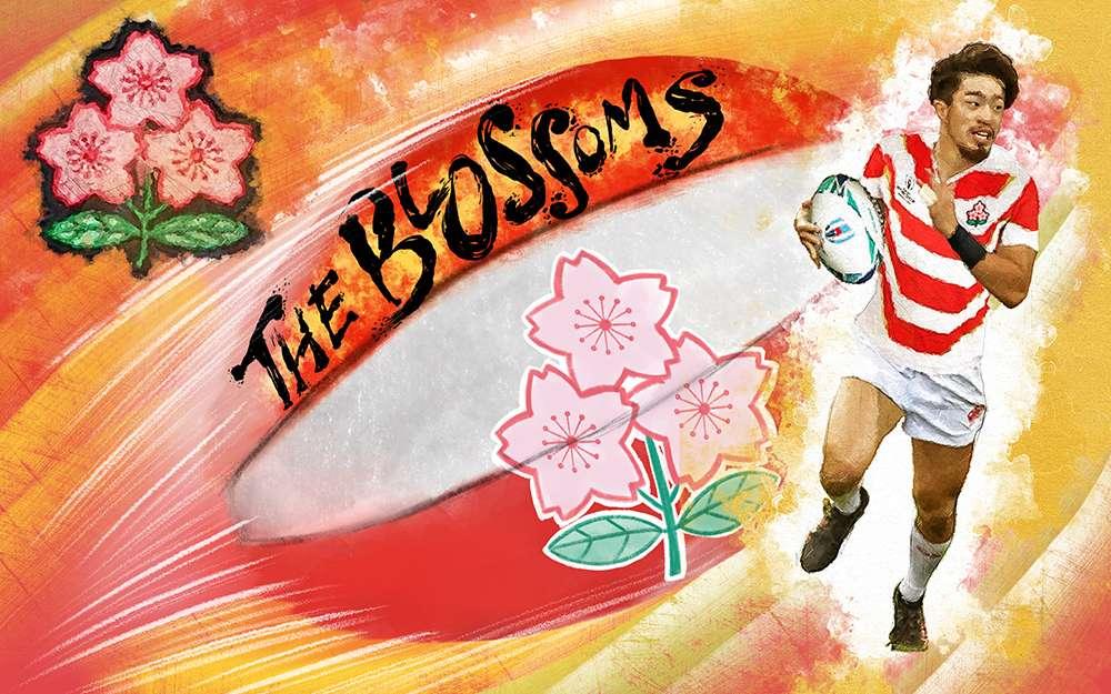 Japan Rugby illustration