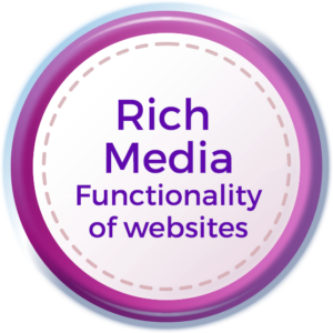rich media functionality
